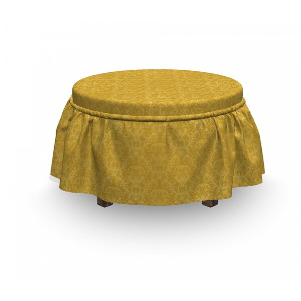 Plant Ottoman Slipcover (Set Of 2) By East Urban Home