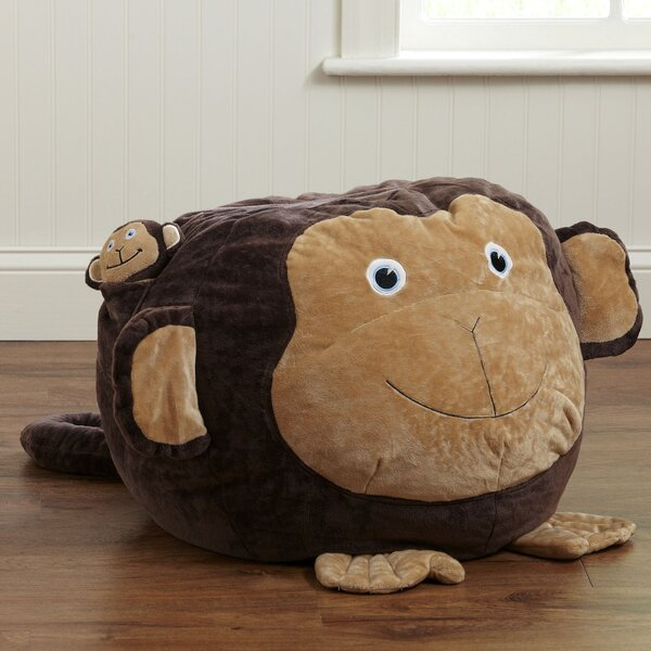 Monkey Bean Bag Chair by Birch Lane Kids™
