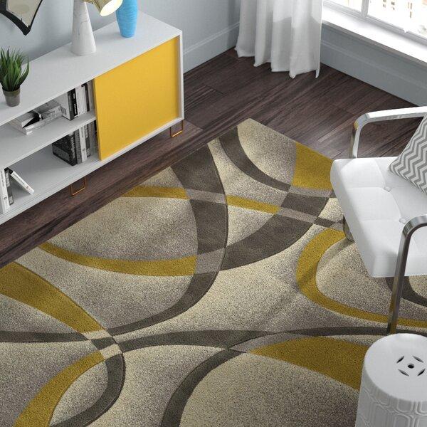 Havana Silver-Gold Area Rug by Zipcode Design