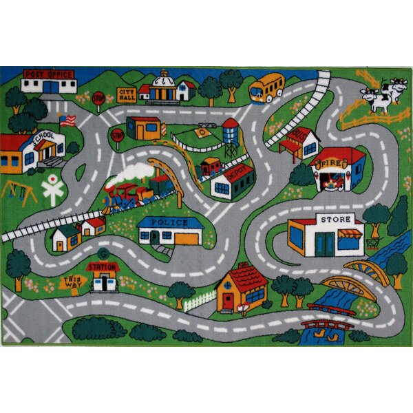 Fun Time Country Fun Kids Rug by Fun Rugs