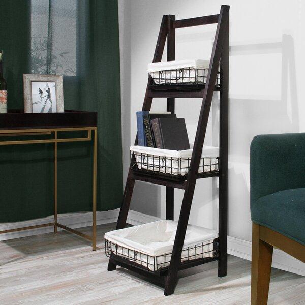 Finkbeiner Ladder Bookcase By Gracie Oaks