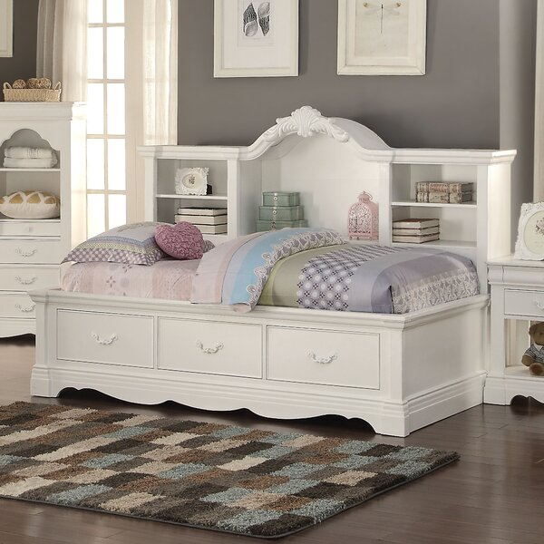Eustice Bed with Bookcase by Harriet Bee