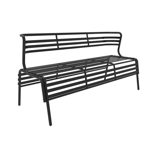Dasilva Steel Garden Bench by Breakwater BayDasilva Steel Garden Bench by Breakwater Bay