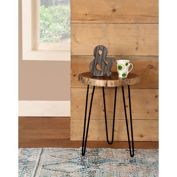 Decaro Acacia Accent Log End Table (Set of 2) by Foundry Select
