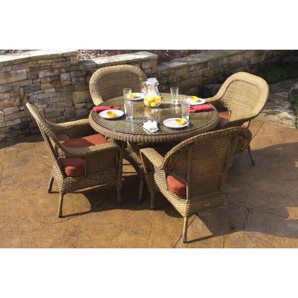 Fleischmann 5 Piece Dining Set by Darby Home Co