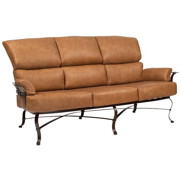 Atlas Loveseat with Cushions by Woodard