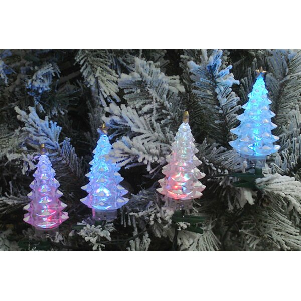 LED Christmas Tree 4 Light Net Light by The Holiday Aisle