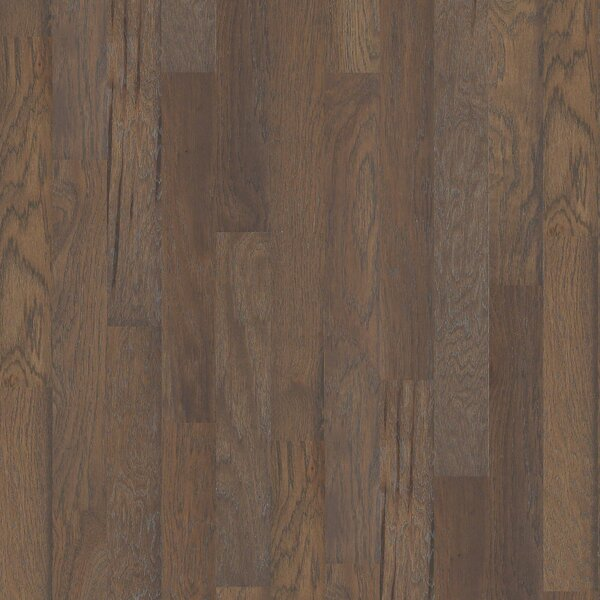 Dancing Queen 5 Engineered Hickory Hardwood Flooring in Salsa by Shaw Floors