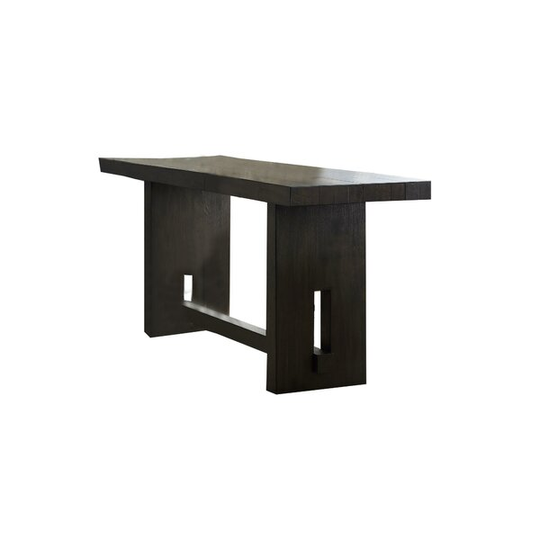 Alaena Counter Height Solid Wood Dining Table By Latitude Run