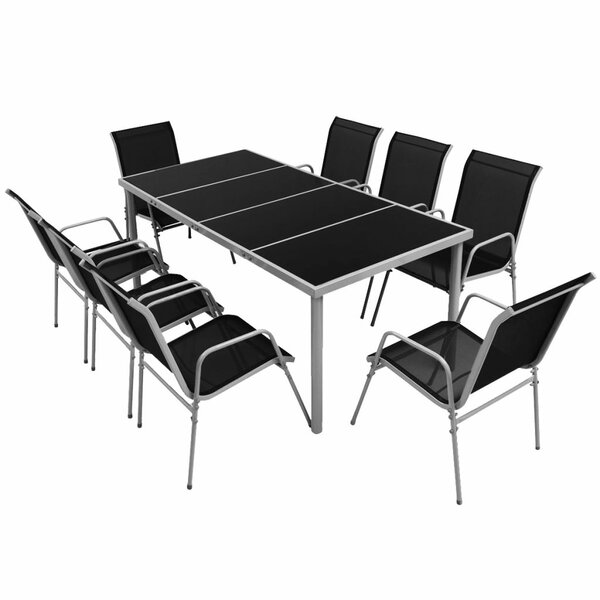 Bremond 9 Piece Dining Set by Bay Isle Home