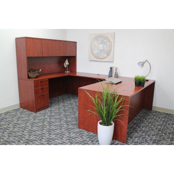 Lissa 5 Piece U-Shape Desk Office Suite by Red Barrel Studio