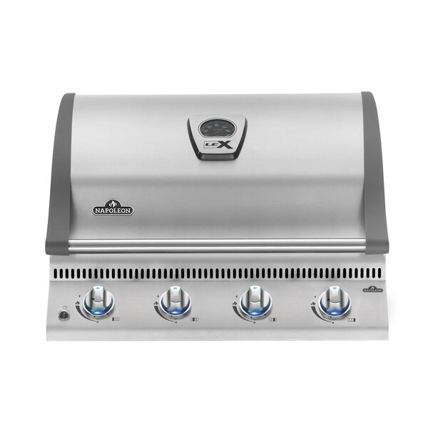 LEX 485 4-Burner Built-in Gas Grill by Napoleon