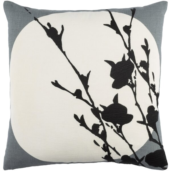 Flying Colors Harvest Moon Linen Throw Pillow by emma at home by Emma Gardner