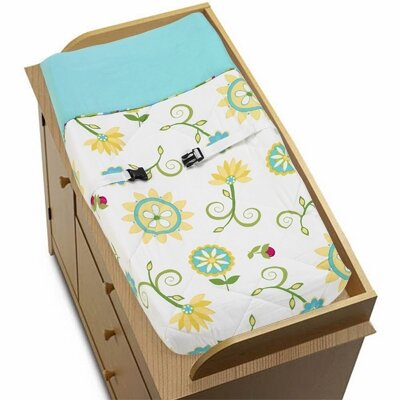Layla Changing Pad Cover by Sweet Jojo Designs