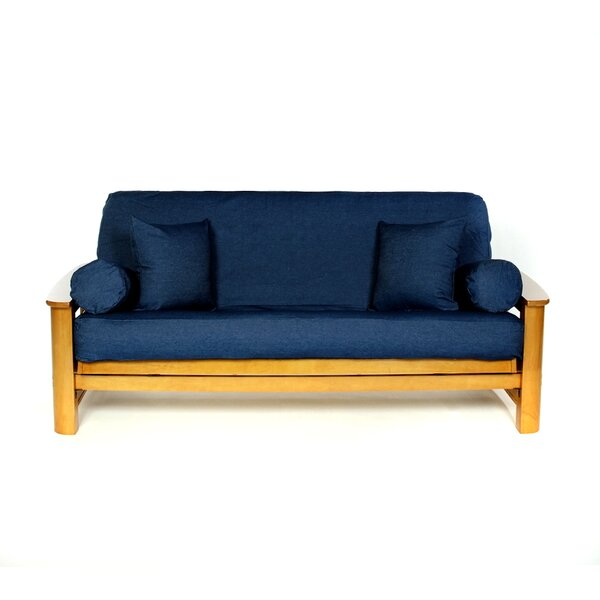 Jean Box Cushion Futon Slipcover by Lifestyle Cove