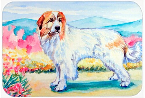 Great Pyrenees Kitchen/Bath Mat by Caroline's Treasures