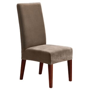 Stretch Pique Short Chair Slipcover