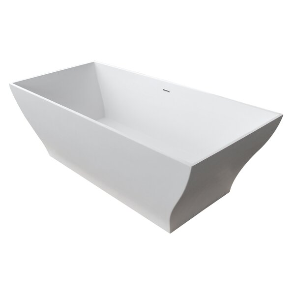 Crema 70.8 x 31.5 Freestanding Soaking Bathtub by ANZZI