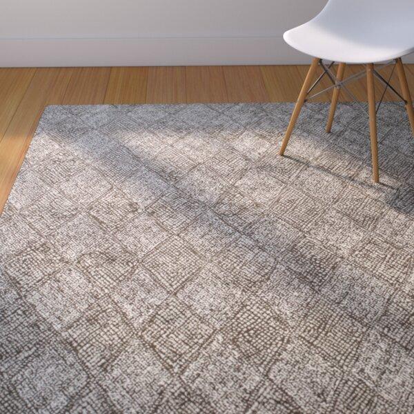 Becker Charcoal/Silver Area Rug by Corrigan Studio