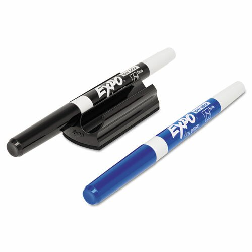 Magnetic Clip Eraser with Dry-Erase Markers (3 Pack) by Expo