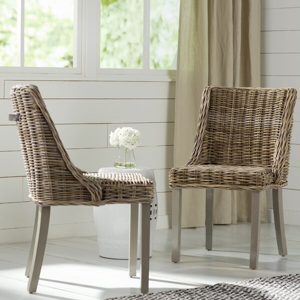 Loomis Dining Chair (Set of 2) by Beachcrest Home