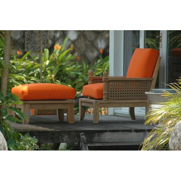 Luxe Deep Seating Chair Set by Anderson Teak