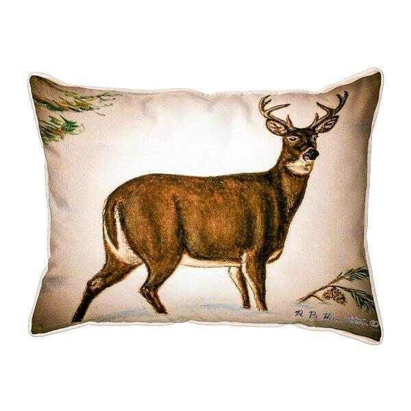 Buck Indoor/Outdoor Lumbar Pillow