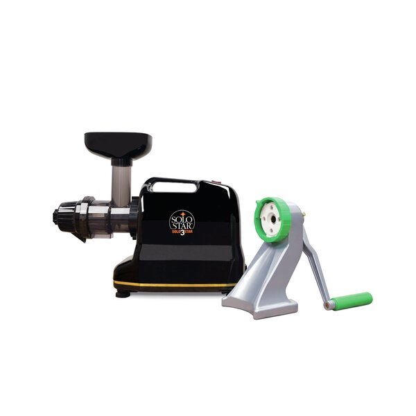 Solostar-3C Convertible Single Auger Juicer with Manual Conversion Kit by Tribest