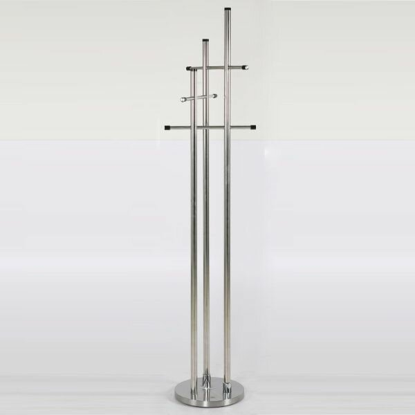 Mariotti Stainless Steel Trio Coat Rack by Ivy Bronx