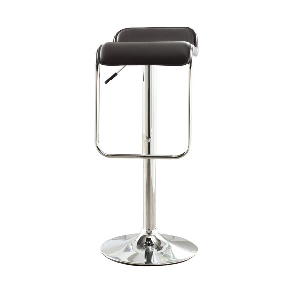 Taronda Adjustable Height Swivel Bar Stool by Safavieh