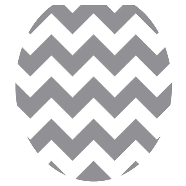 Chevron Toilet Seat Decal by Toilet Tattoos
