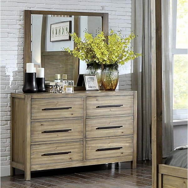 Atchison 6 Drawer Double Dresser by Foundry Select