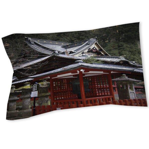 Nikko Monastery Building Sham by Manual Woodworkers & Weavers