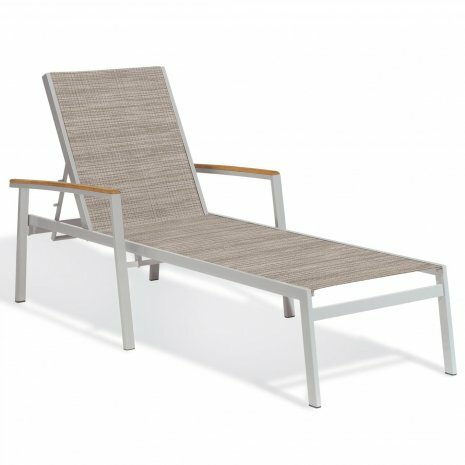 Laskowski Reclining Chaise Lounge (Set of 4) by Latitude Run