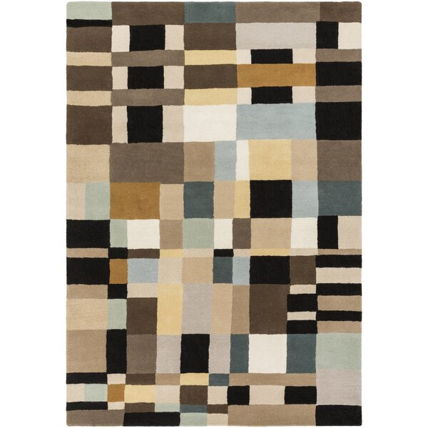 Mcclure Hand-Tufted Geometric Area Rug by Latitude Run
