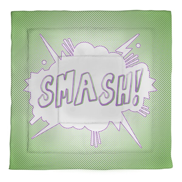 Comic Superhero Single Reversible Comforter