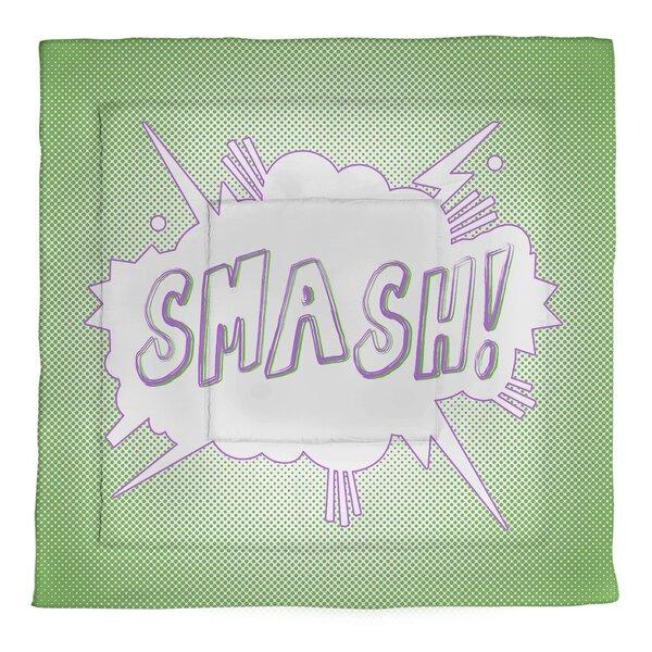 Comic Superhero Single ReversibleComforter