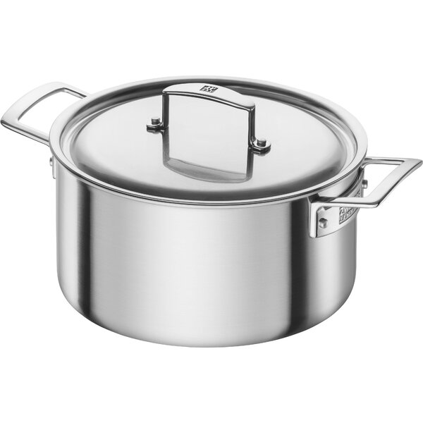 Aurora 5.5-Qt. Stainless Steel rOUND Dutch Oven by Zwilling JA Henckels