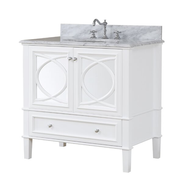 Olivia 36 Single Bathroom Vanity Set by Kitchen Bath Collection