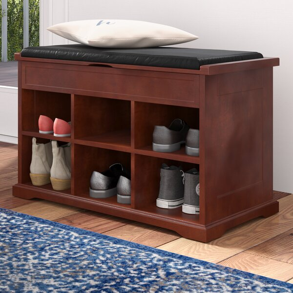 Barrentyne Shoe Storage Bench by Charlton Home