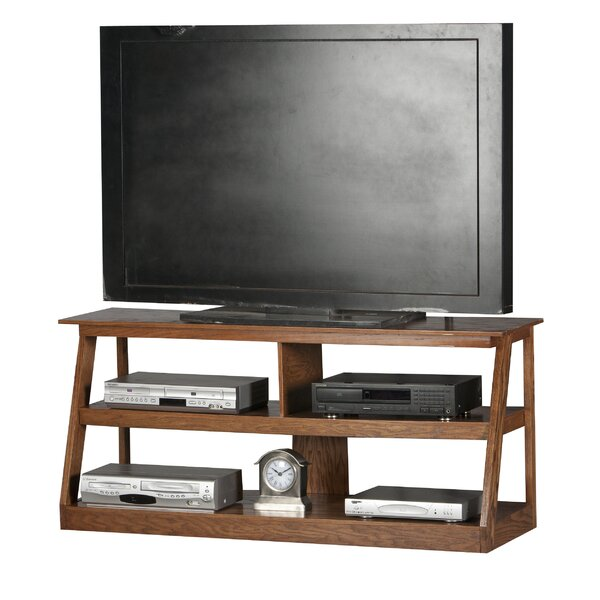 Pilar Solid Wood TV Stand For TVs Up To 60