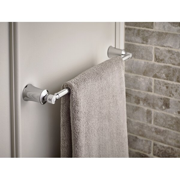 Dartmoor 18 Wall Mount Towel Bar by Moen
