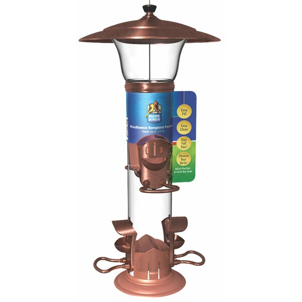 Radiant Tube Bird Feeder by Classic Brands LLC
