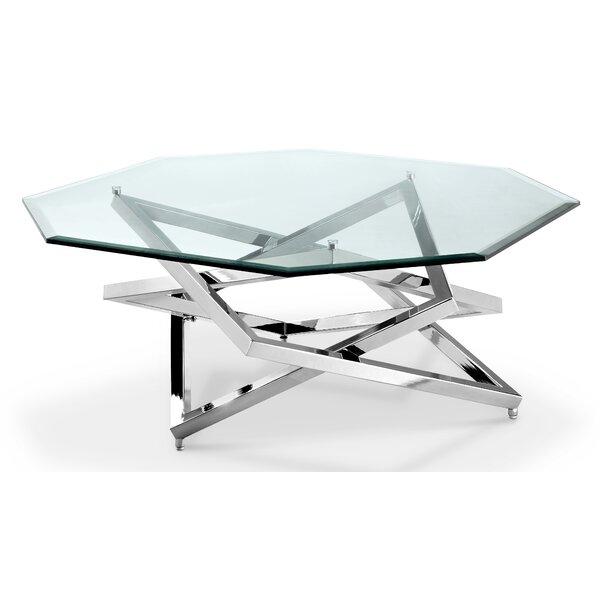 Gianni Cross Legs Coffee Table By Mercer41