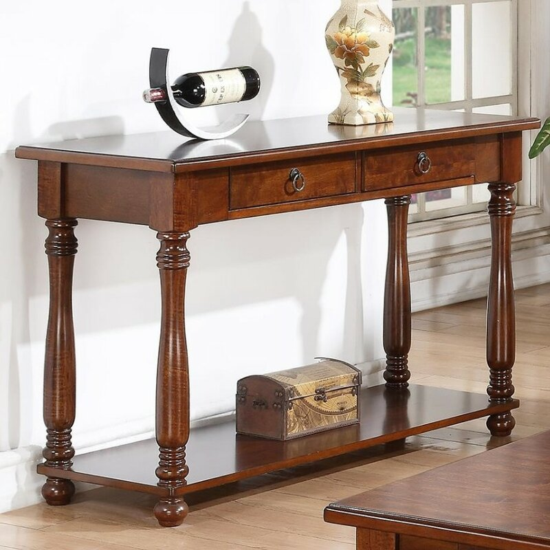 Rumfelt Traditional Console Table