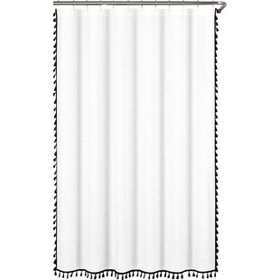 Black Gray Silver Shower Curtains Youll Love