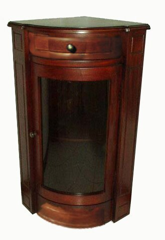 Short 1 Door Accent Cabinet by D-Art Collection