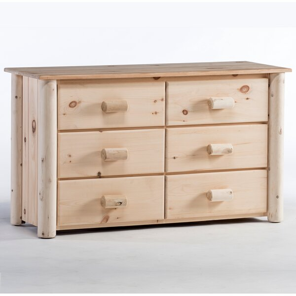 Timothy 6 Drawer Double Dresser by Millwood Pines