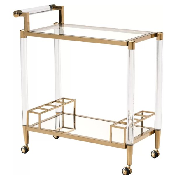 Tuckerman Bar Cart by Everly Quinn