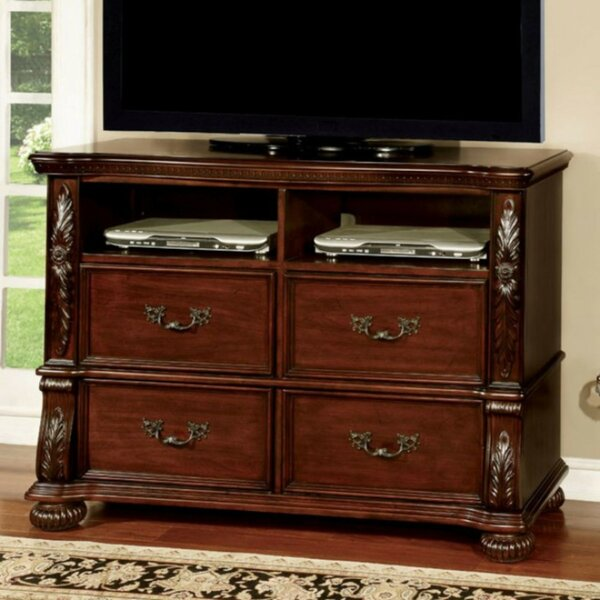 Review Tatiana Media 4 Drawer Dresser